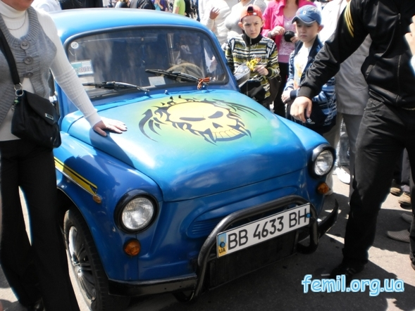 Выставка ретро-автомобилей, Запорожец