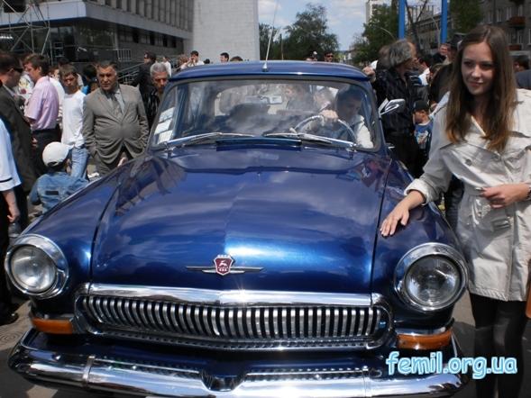 Выставка ретро-автомобилей, ГАЗ-21