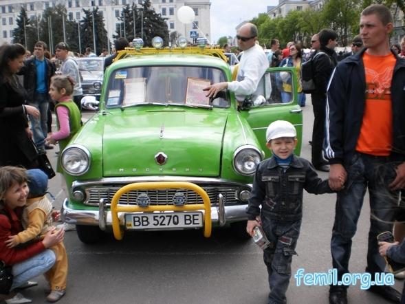 Выставка ретро-автомобилей, Москвич