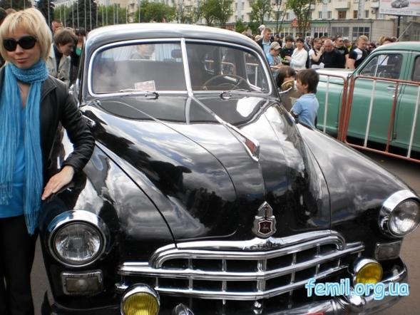 Выставка ретро-автомобилей, ЗиМ
