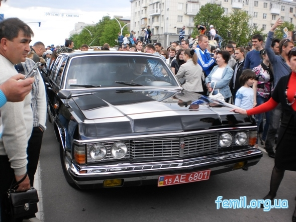 Выставка ретро-автомобилей, Чайка