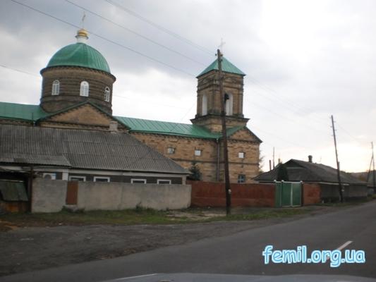 Церковь в Михайловке