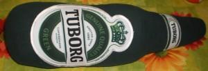 Подушка в форме бутылки