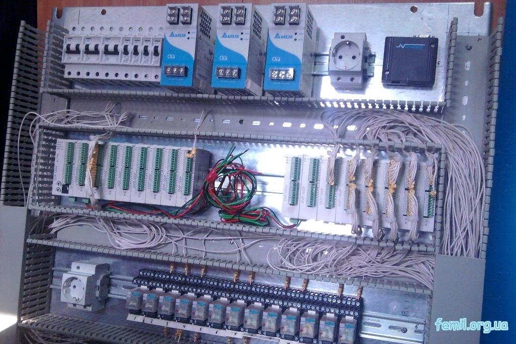 Шкаф автоматического управления производственным участком