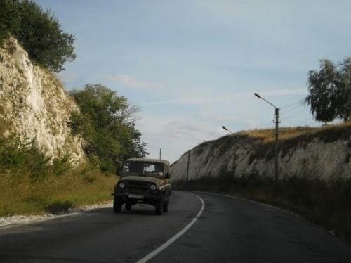 Дорога возле г. Изюм