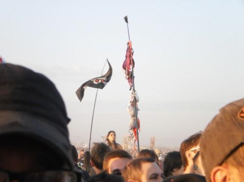 Флаг из лифчиков