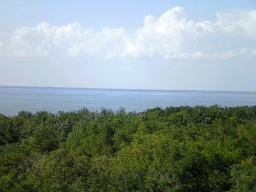 Вид на р. Днепр с высоты