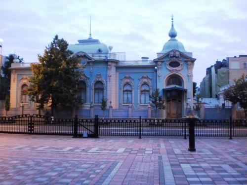 Здание возле Верховной рады