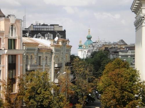 Вид со смотровой площадки Михайловского собора