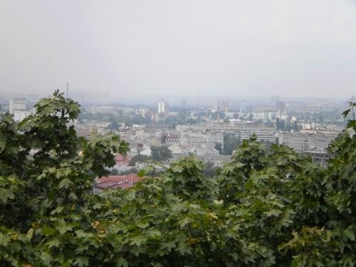 Вид со смотровой площадки над Андреевским спуском
