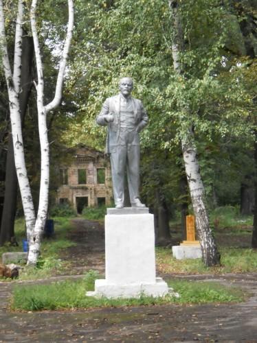 Памятник Ленину в Селезневском парке