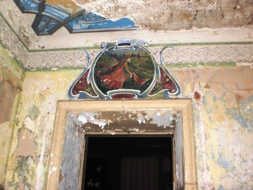 Лепнина в кабинете Мсциховского