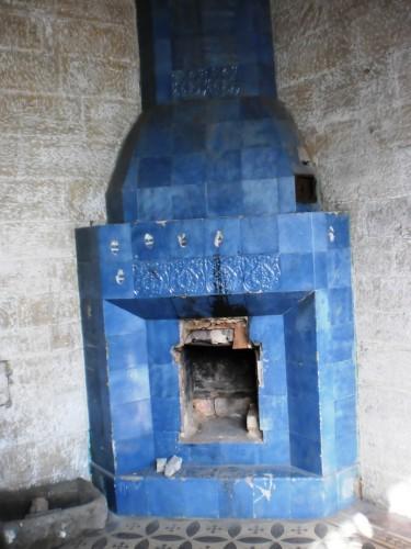 Камин в усадьбе Мсциховского