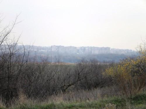 Вид на Алчевск