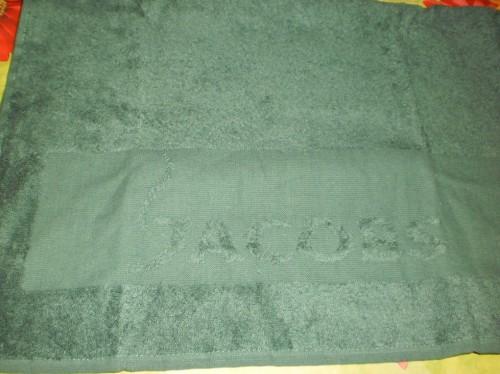 Посылка от Jacobs, полотенце