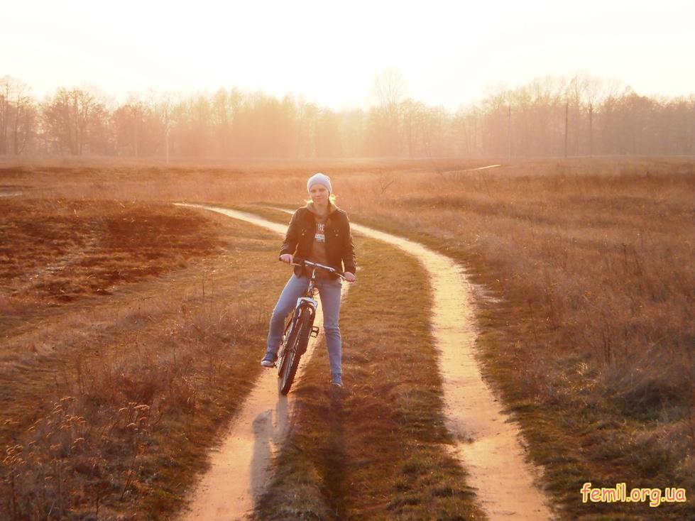 Я на велосипеде