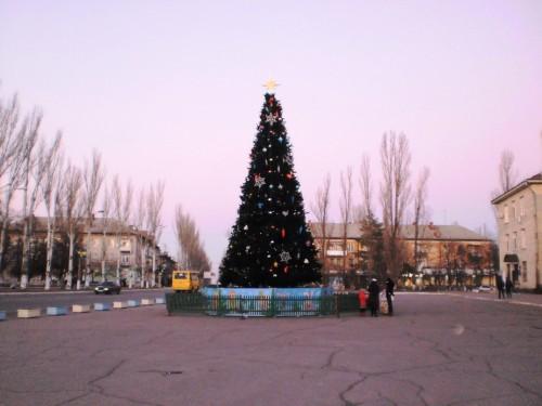Новогодняя елка 2015 Светловодск