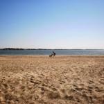 Пляж и мы