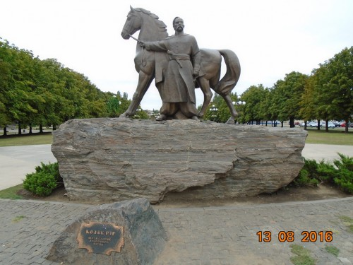Памятник казаку Рогу, Кривой Рог
