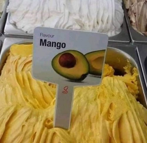 Мороженое из манго с фото авокадо