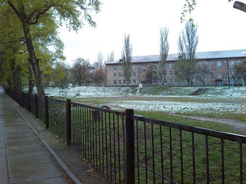 снег в апреле