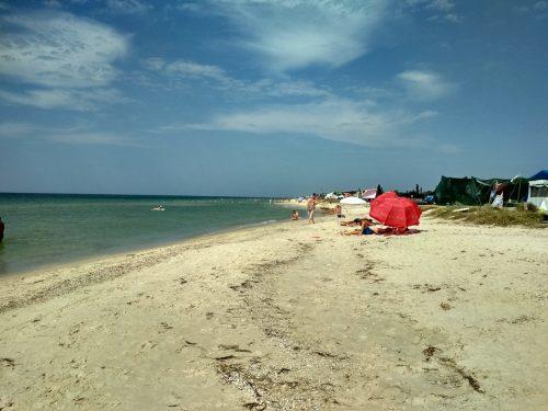 Пляж, Приморское, Херсонская область