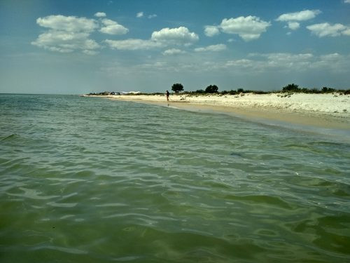 Море и пляж, Приморское, Херсонская область