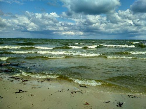 Волны на Днепре