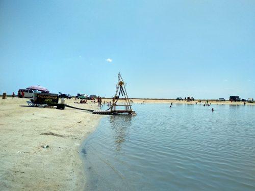 Очень соленое озеро