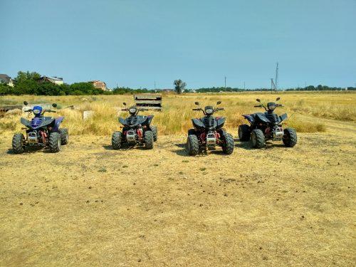 Квадроциклы, незадолго до экскурсии