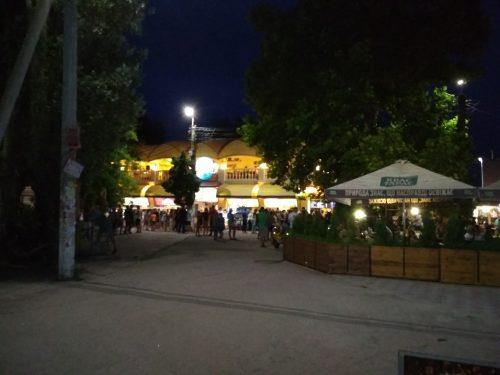 Ночная набережная Скадовска