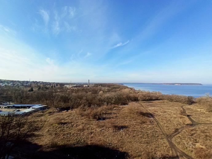Река Днепр, февраль 2020