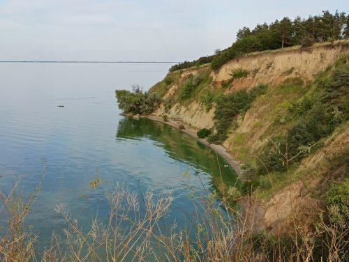Береговая линия, село Саульское
