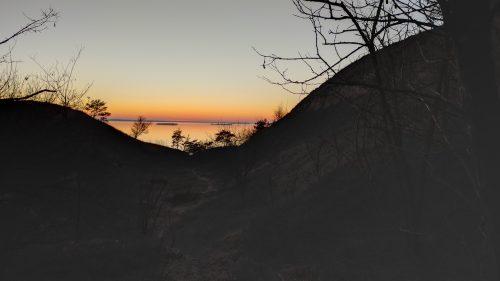 Закат на горе Пивиха