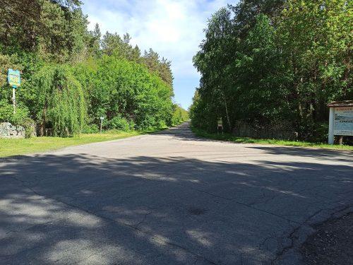 Дорога на канал Днепр-Ингулец (развилка)